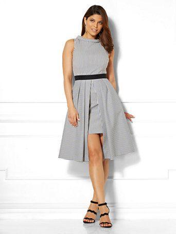 cb05643e14b5 Tall Freya Dress - Mixed Stripe - Eva Mendes Collection in 2019 ...