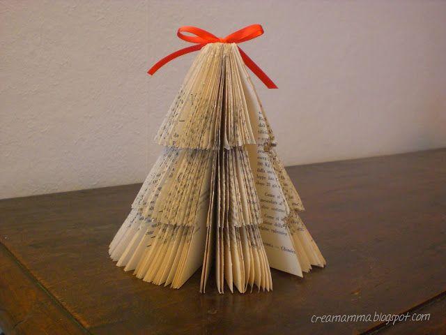 Diario di una Creamamma: Da libro ad alberello di Natale!