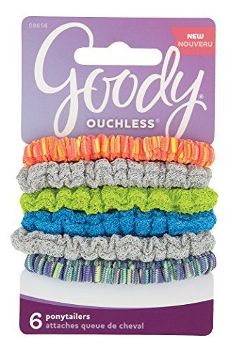 Goody Ouchless 1945788 Ponytailers Sport Bright    Check this useful  article by going to the link at the image.  HairElasticsandTies  ea90af6f899
