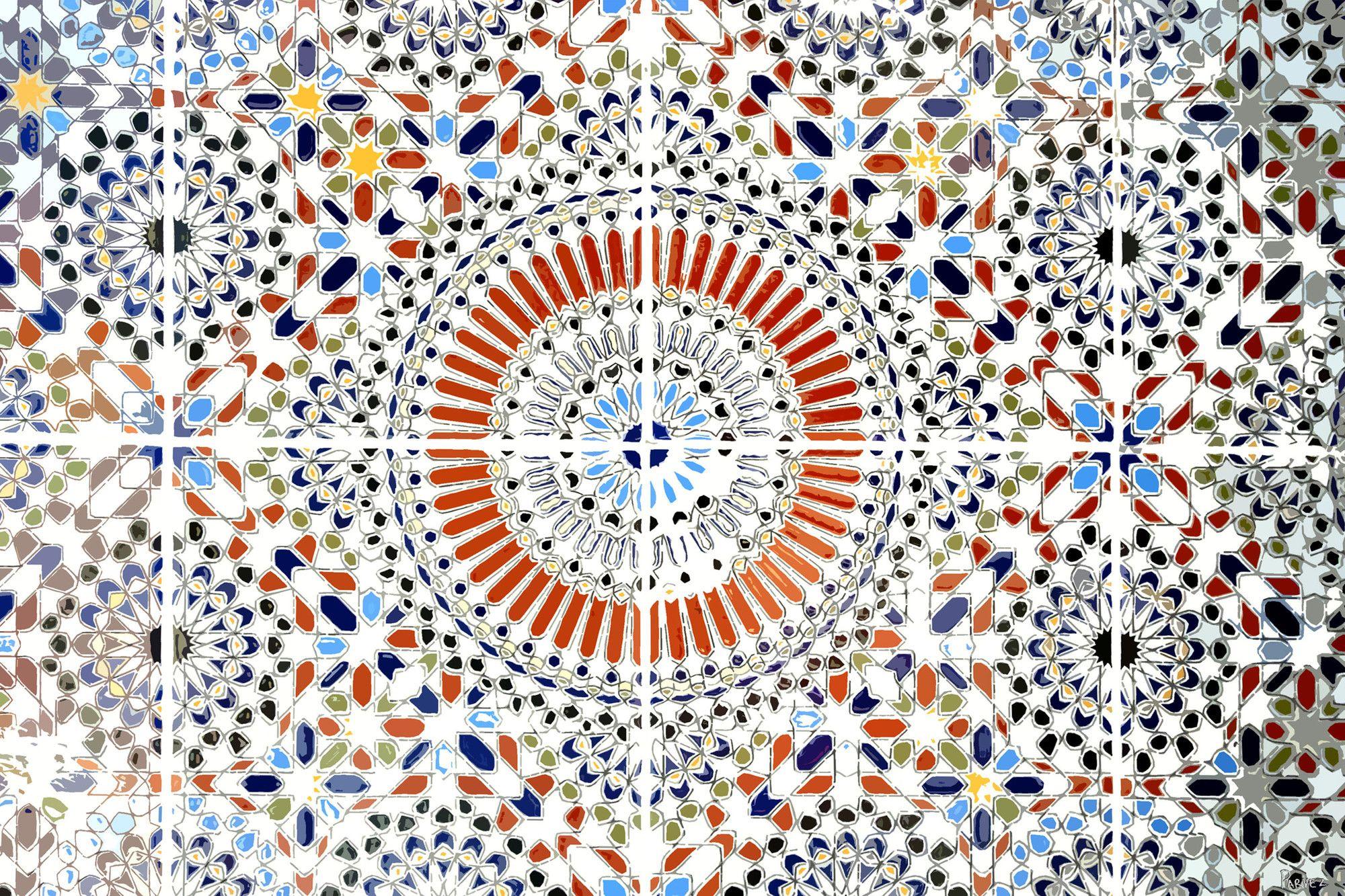 'Kortoba' by Parvez Taj Painting Print on Wrapped Canvas