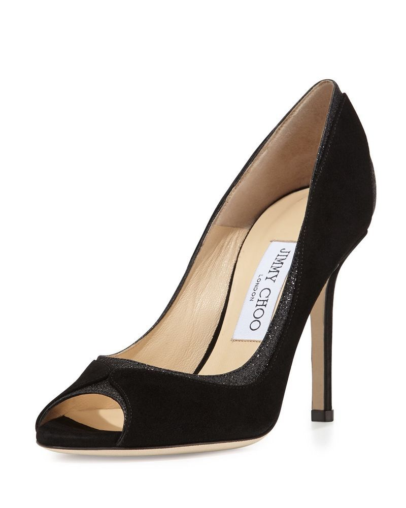 cf0bc9820 AUTHENTIC NEW JIMMY CHOO Peep Toe Pump | Shoes | Shoes, Jimmy choo ...