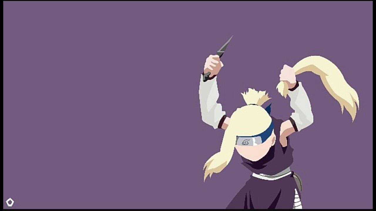 Sasuke Minimalista Fondo: Ino Wallpaper