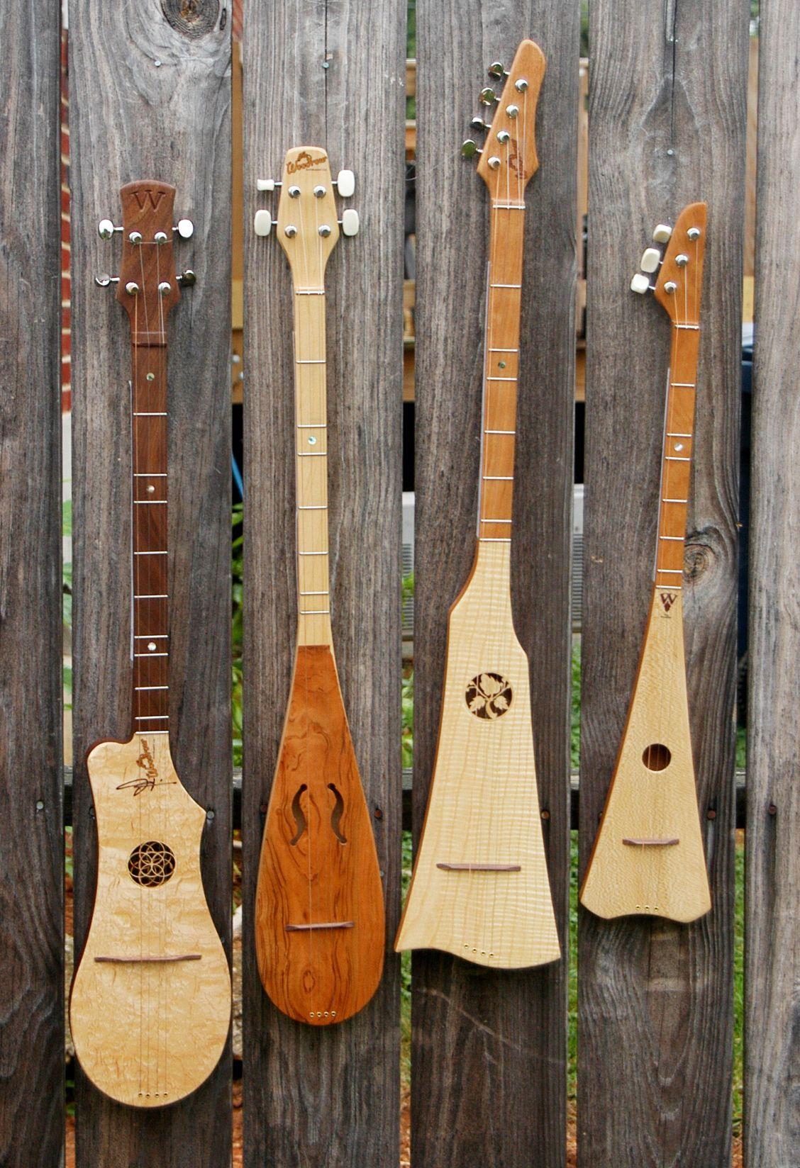 Handmade String Instruments Wooden Guitars Banjos The Woodrow