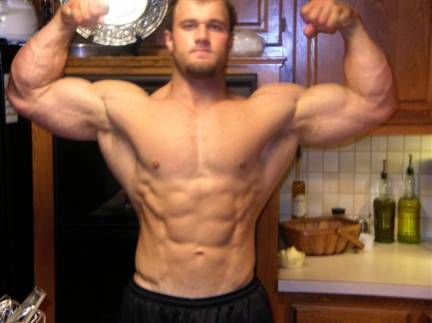 dave gulledge as both a powerlifter and a bodybuilder