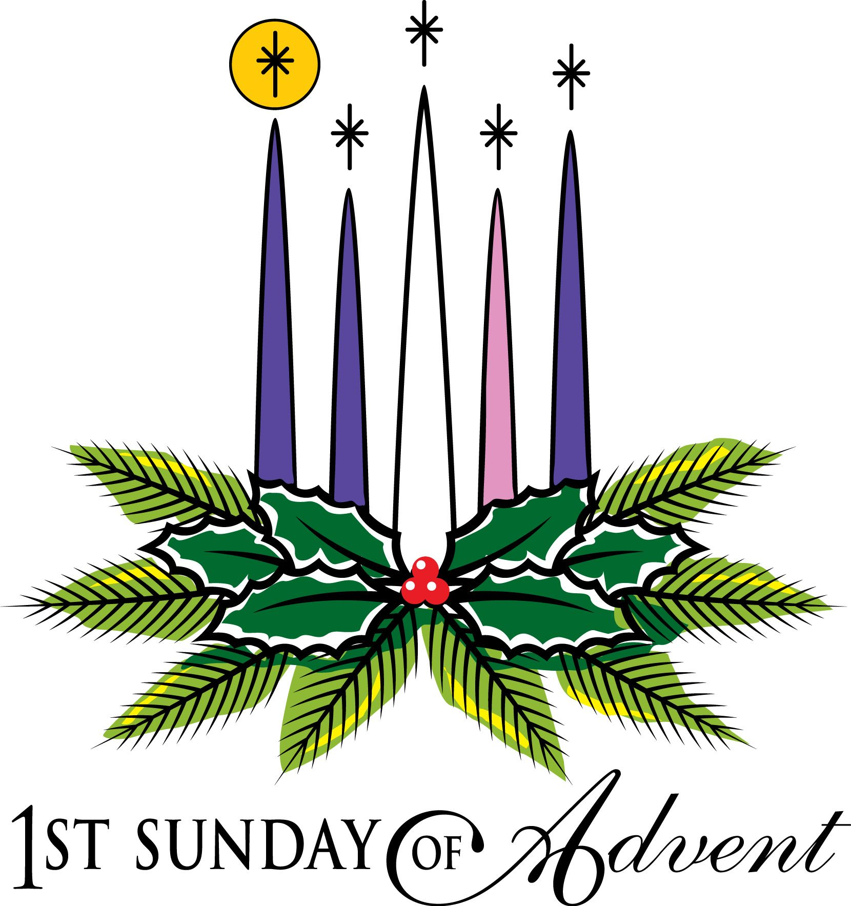 first sunday of advent hope google search christmas pinterest rh pinterest com advent calendar clip art free advent clipart free catholic