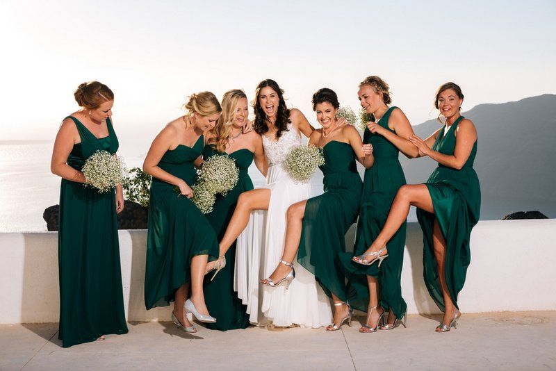 lizzie and johns beautiful santorini wedding by the bridal consultant