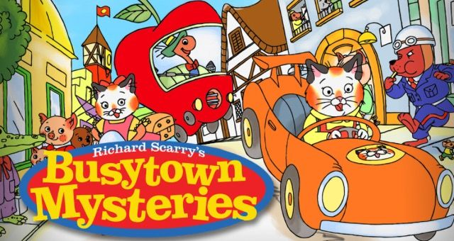 Busytown Mysteries Mystery Memory Games Kids Shows