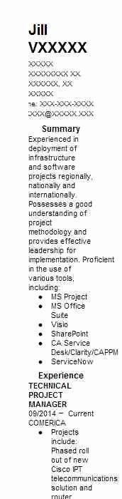 Technical Program Manager Resume Inspirational Technical Project Manager Resume Example Infosys Manager Resume Programme Manager Project Manager Resume