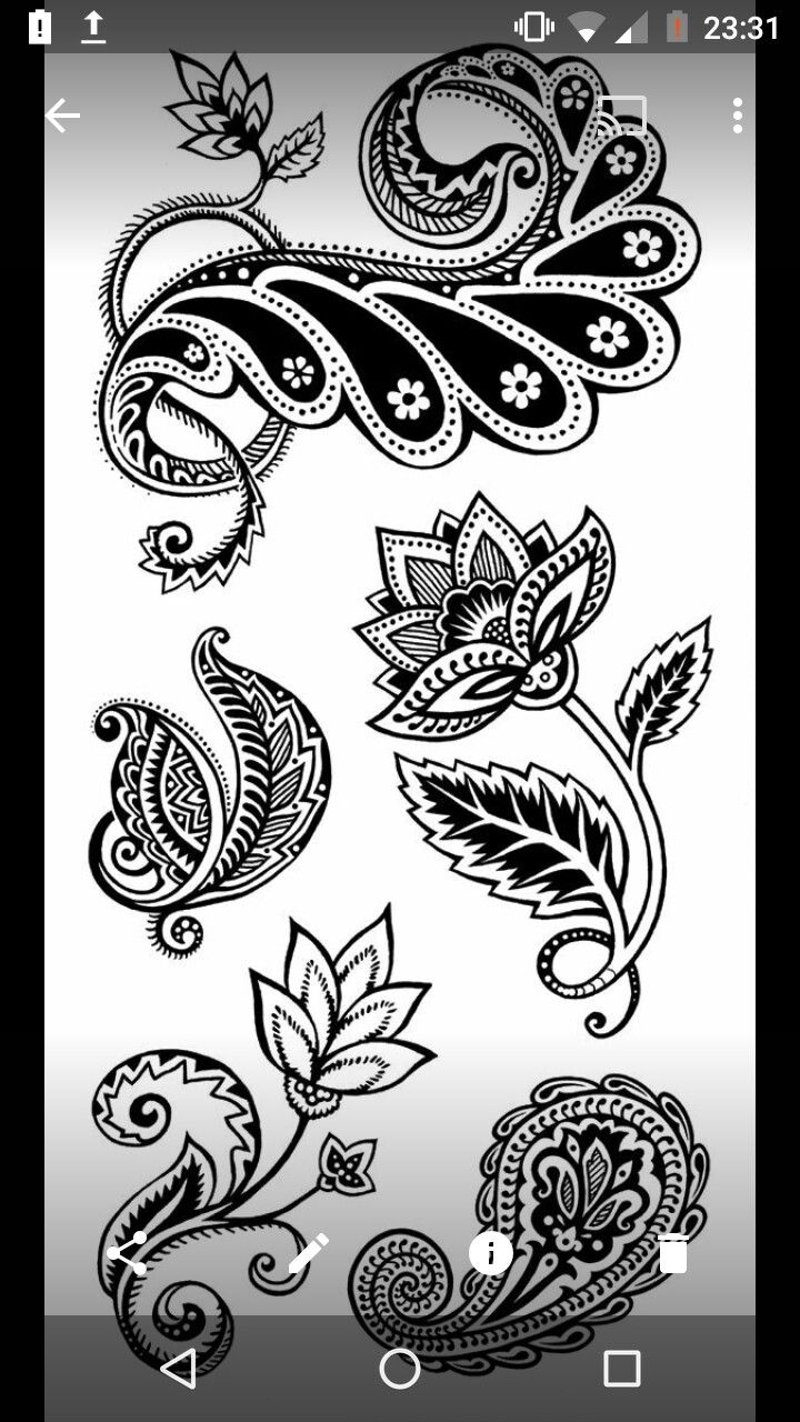 Pin by shammira daly on wall murals pinterest hennas zentangles