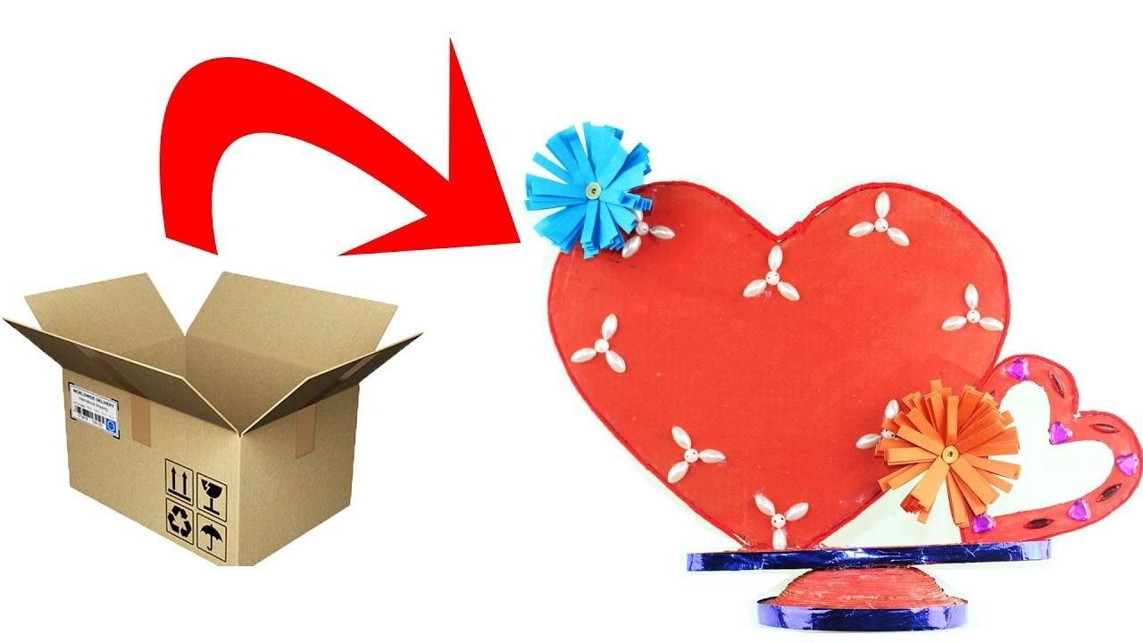Diy Paper Craft Paper Heart Design Valentine S Day And Room Decor