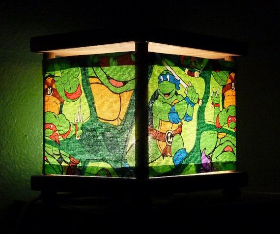 Ninja Turtle Night Light Lamp Superhero Lighting By