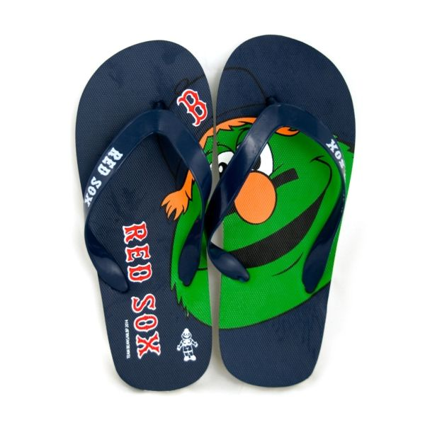 Red Sox Kids Flip Flops Mascot   Red Sox Kids!   Kids flip