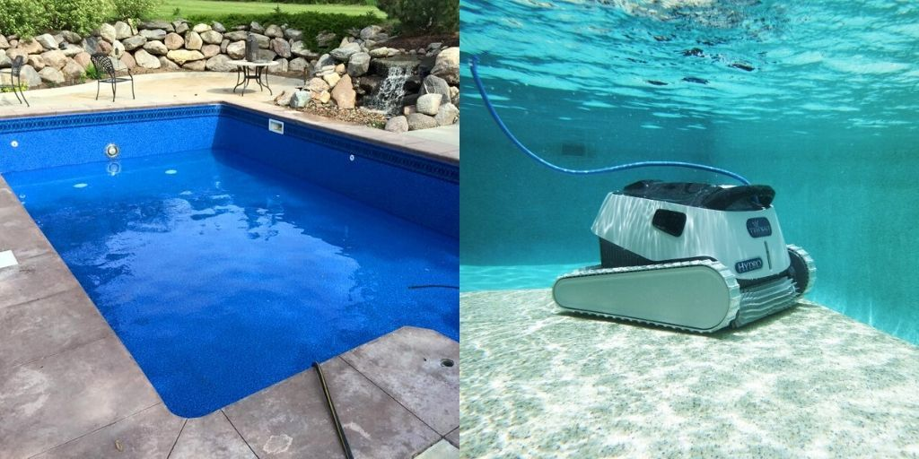 5 Best Robotic Pool Cleaner For Vinyl Pools Best Robotic Pool Cleaner Pool Cleaning Robotic Pool Cleaner