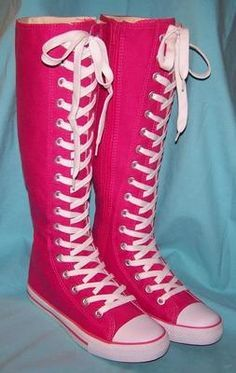 high knee boots for girls converse