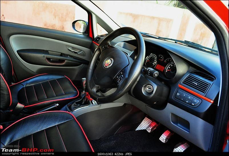 The Red Rocket - Fiat Grande Punto Sport. *UPDATE* Interiors now in ...