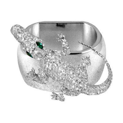 Isabella Adams Crocodile Napkin Ring