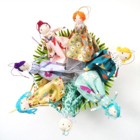 modflowers: twirly girls