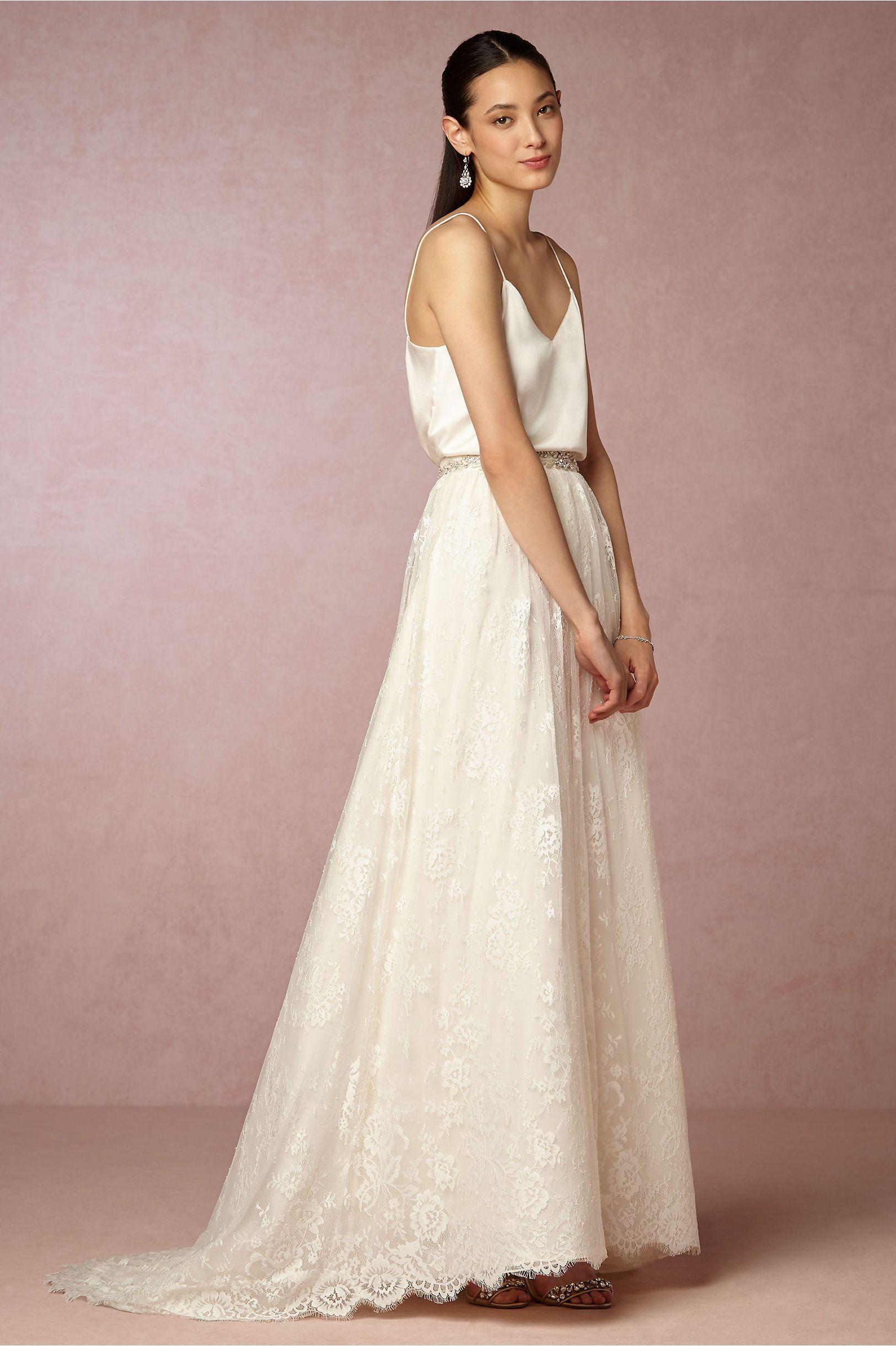 987aabaf5d BHLDN Mia Top in Bride Bridal Separates Tops   BHLDN. Dresses .