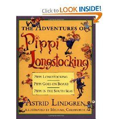 An enticing, newly illustrated collection of the enduringly popular Pippi stories. Since Pippi Longstocking was first published in 1950, the escapades of the incomparable Pippi,the girl with upside-down braids and no parents to tell her what to do, have delighted boys and girls alike. Now, for the first time, Pippi Longstocking, Pippi Goes on Board, and Pippi in the South Seas are all together in one bumper volume, with new illustrations in full-color and black-and-white. The collection is…