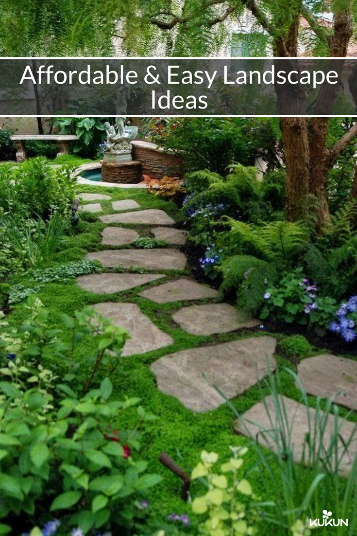 12 Easy Practical And Affordable Ideas For That Perfect Backyard Makeover Backyard Landscaping Designs Small Backyard Landscaping Diy Backyard Landscaping