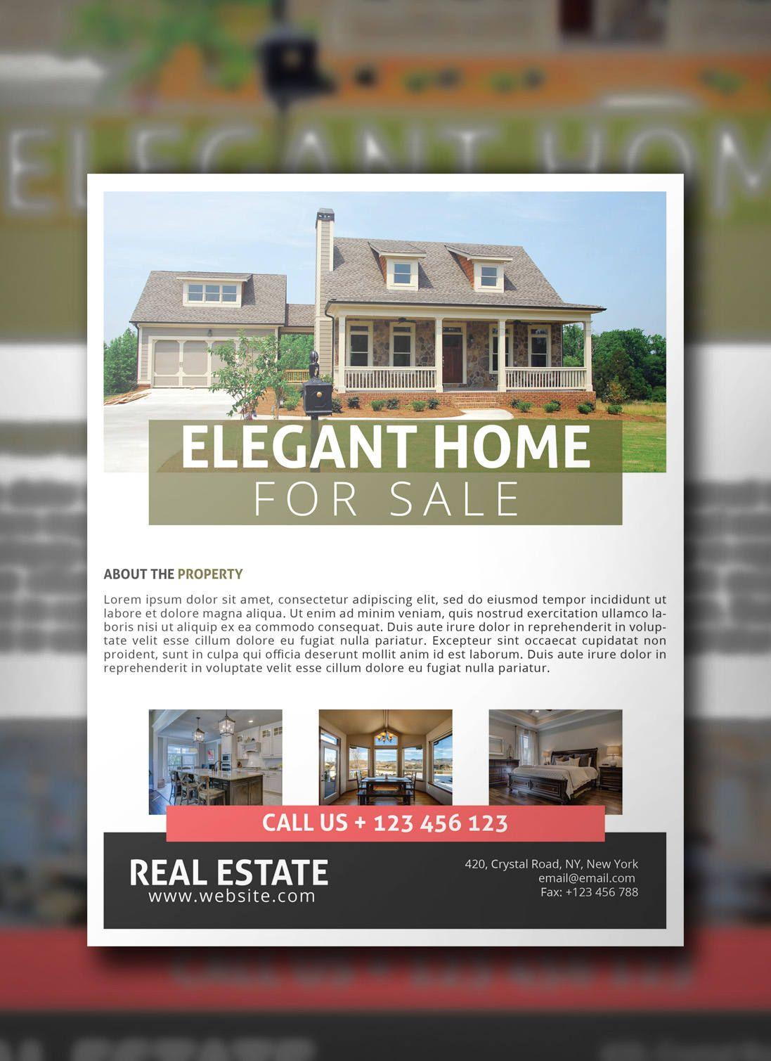Real Estate Flyer Psd Template Marketing Flyer Real Estate Flyer Realty Instant Download Photoshop Template By B Real Estate Flyers Flyer Marketing Flyers Real estate flyer template psd
