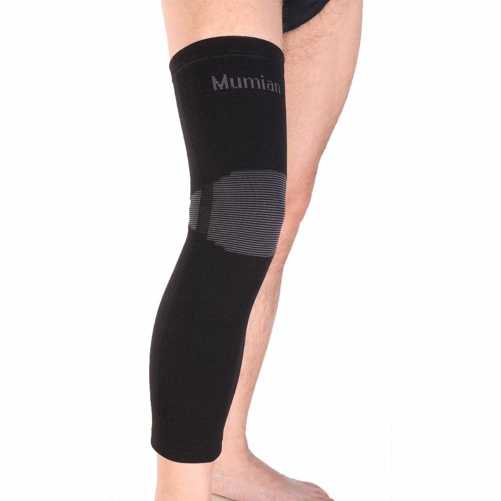 Elastic Sports Leg Knee Support Brace Wrap Protector Knee Pads Sleeve Cap Patella Guard Volleyball Long Kn Knee Support Sleeve Knee Support Braces Knee Sleeves