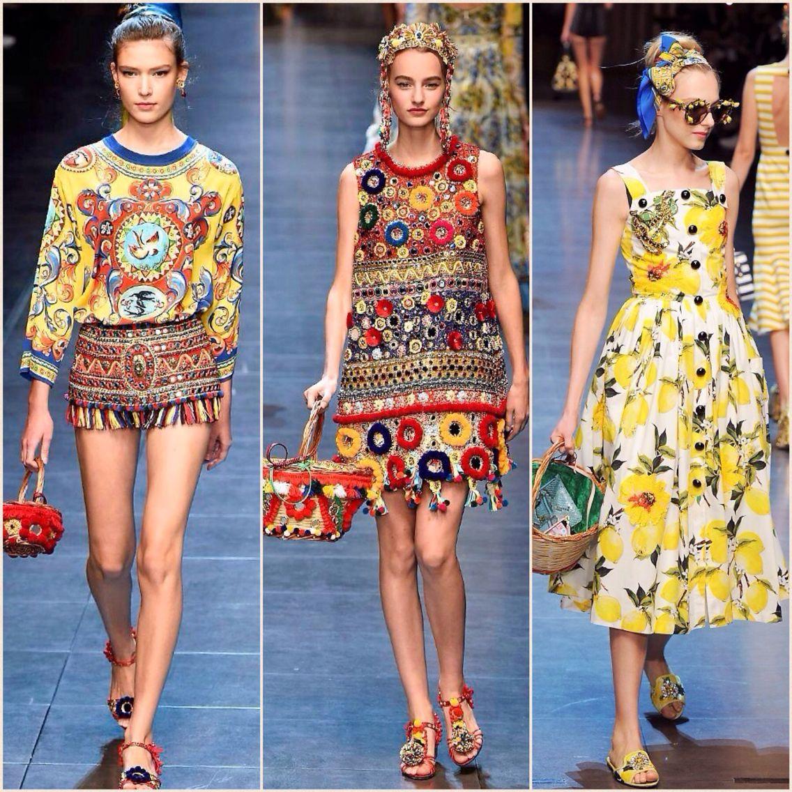2aba624ccc65 Pom Pom hand bag   dress by Dolce   Gabbana SS2016. Shop our Sicily Bags  and spread the Pom Pom love. sicilybag.com