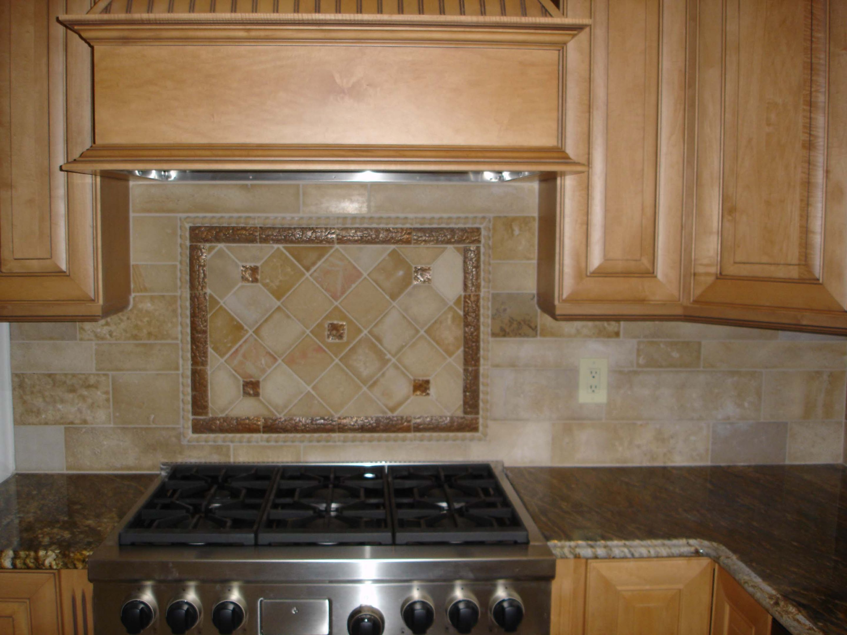 Backsplash Accent Ideas Kitchen Countertops And Backsplashes Stone And Metal