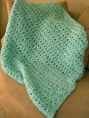 Knit Blanket Mple Quick Pattern I May Want To Alternate The