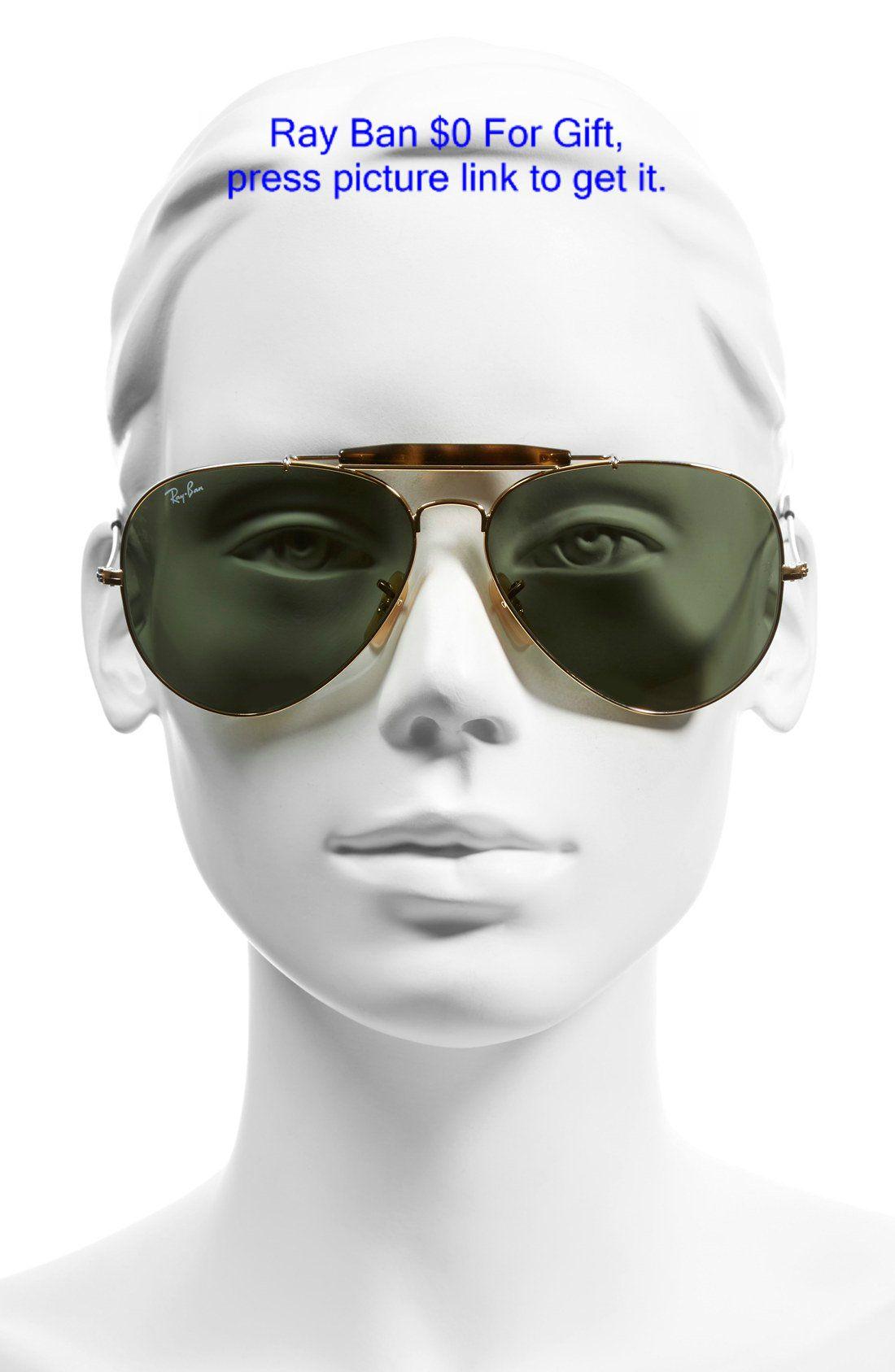 896a58668e Ray-Ban 62mm Aviator Sunglasses