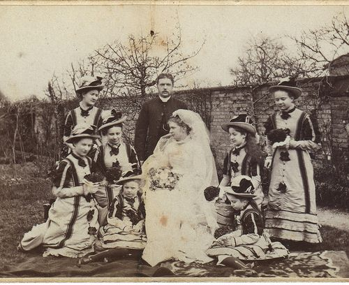 wonder wedding | its from a CDV, date anyone ? For many more… | Flickr