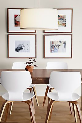 Pike Modern Wood Base Chair Modern Dining Chairs Modern Dining