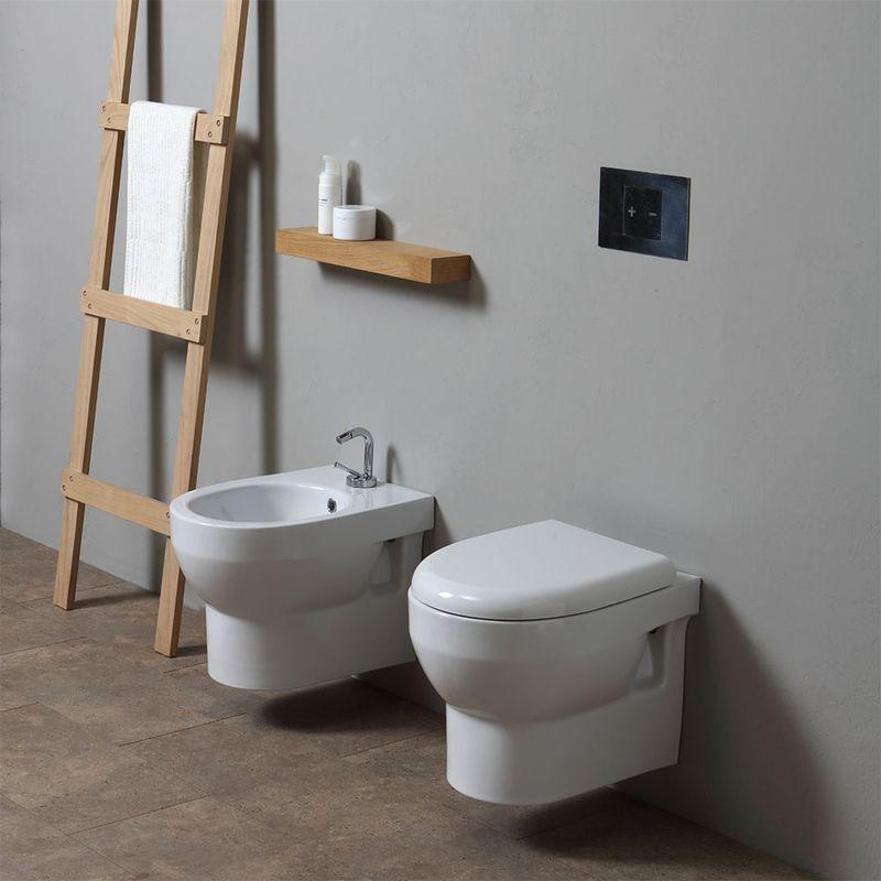 Coppia Sanitari Sospesi Serie Tuckett 02060621600002 Toilet