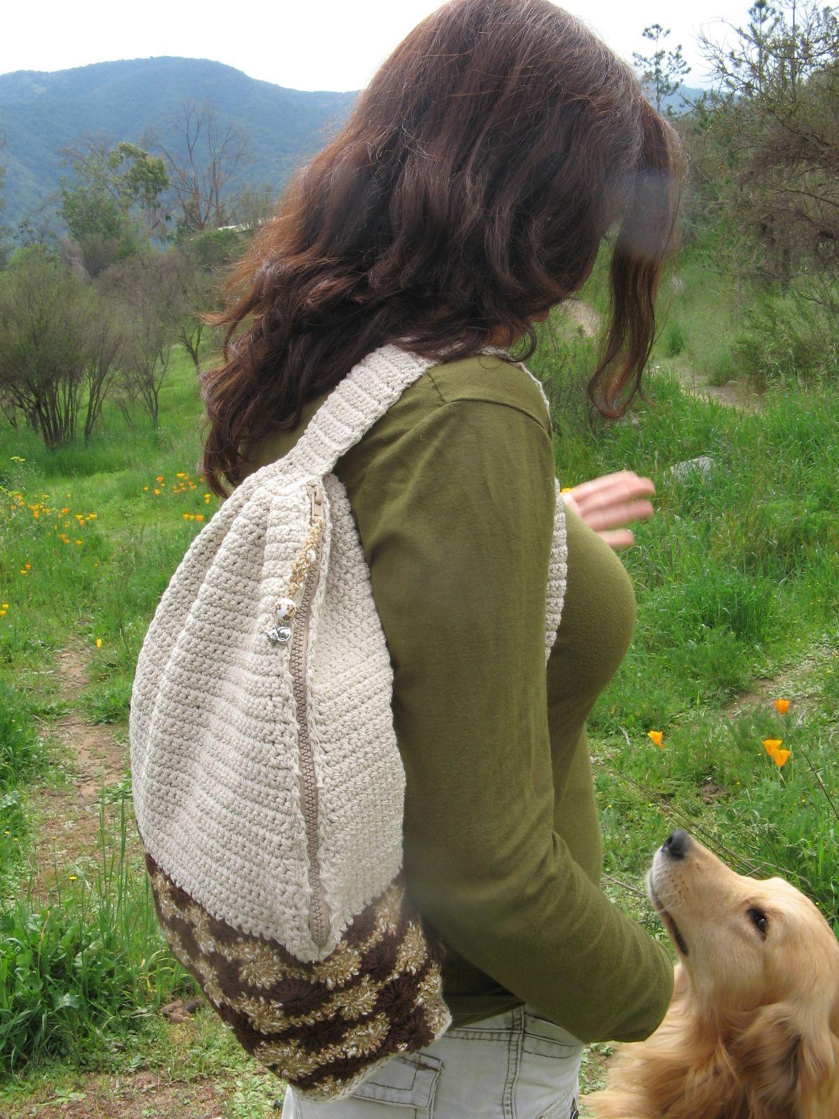 Mochila a crochet