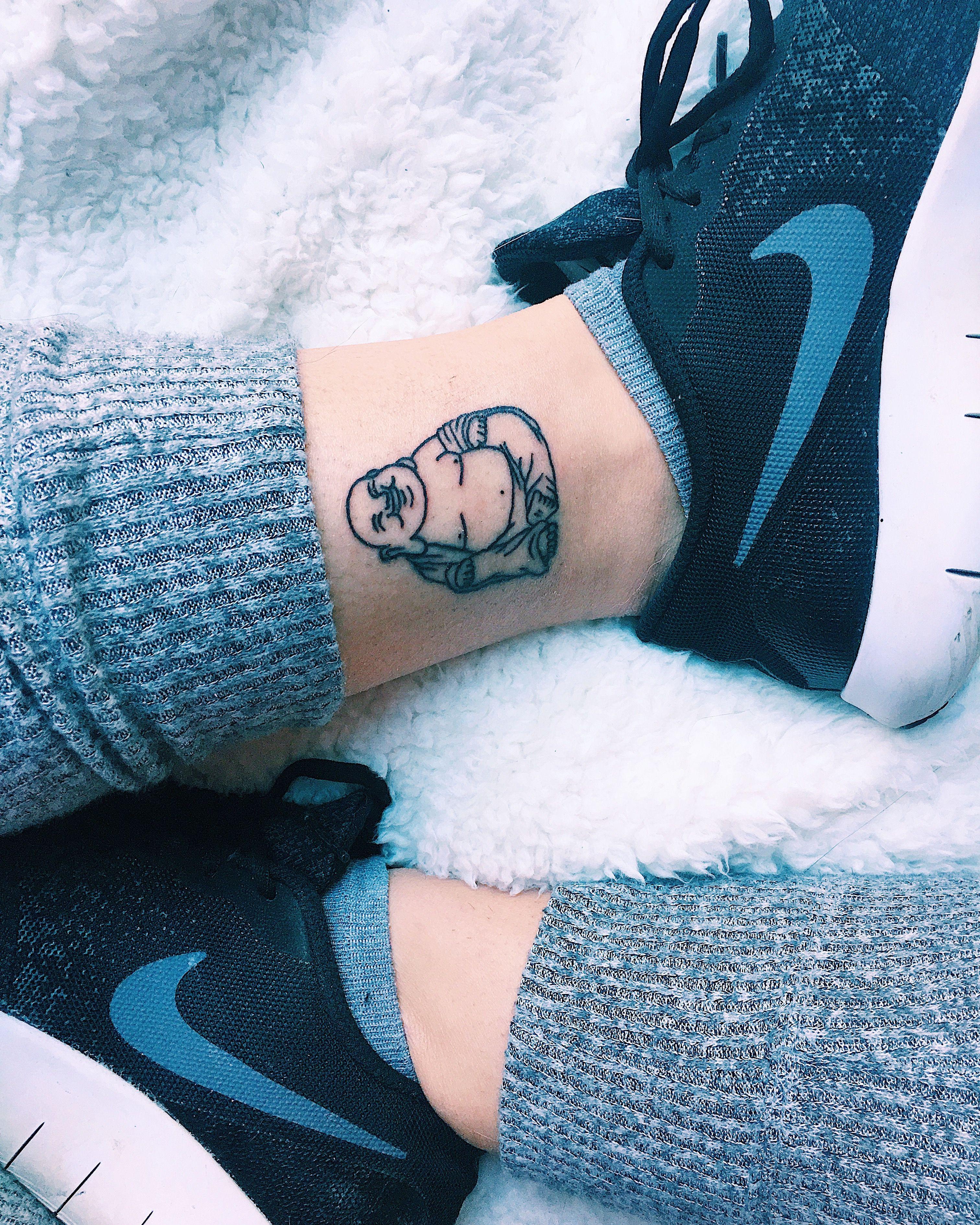 Fat Buddha Tattoo Hotei Tattoos Luck Tattoo Buddha Tattoos
