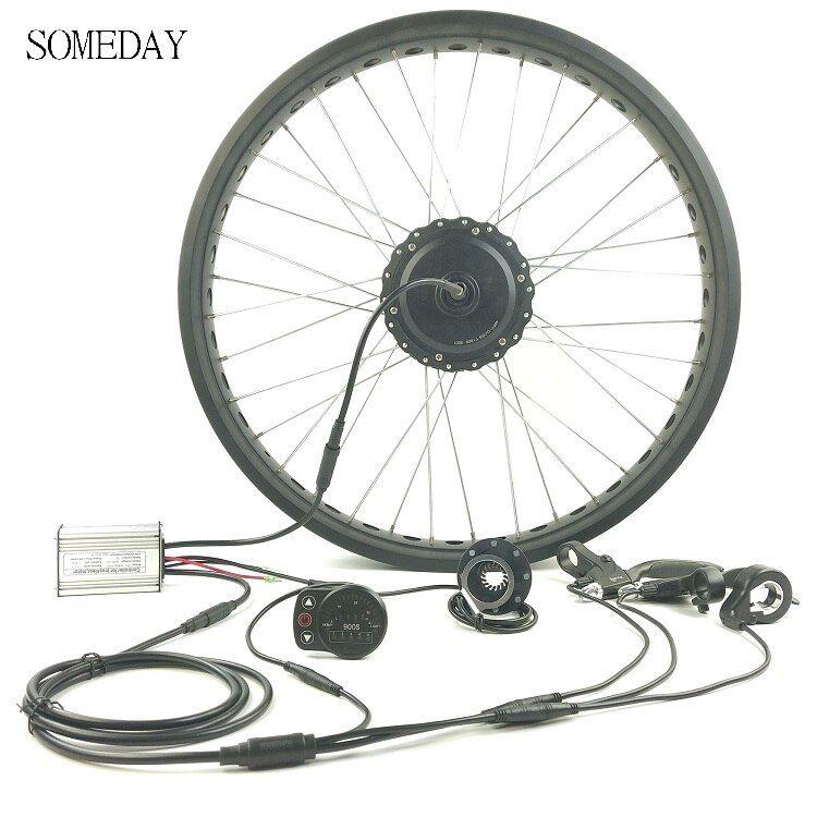 Someday 36v 48v 350w Electric Bicycle Snow Bike Conversion Kit