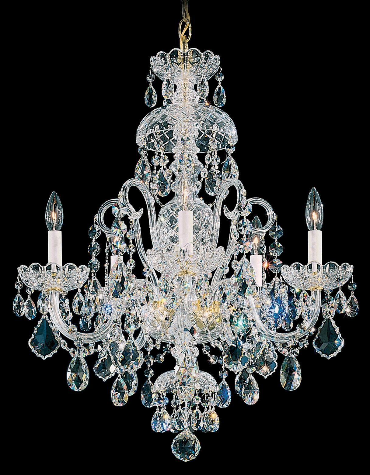 This Signature Classic By Arnold Schonbek Is An All Crystal