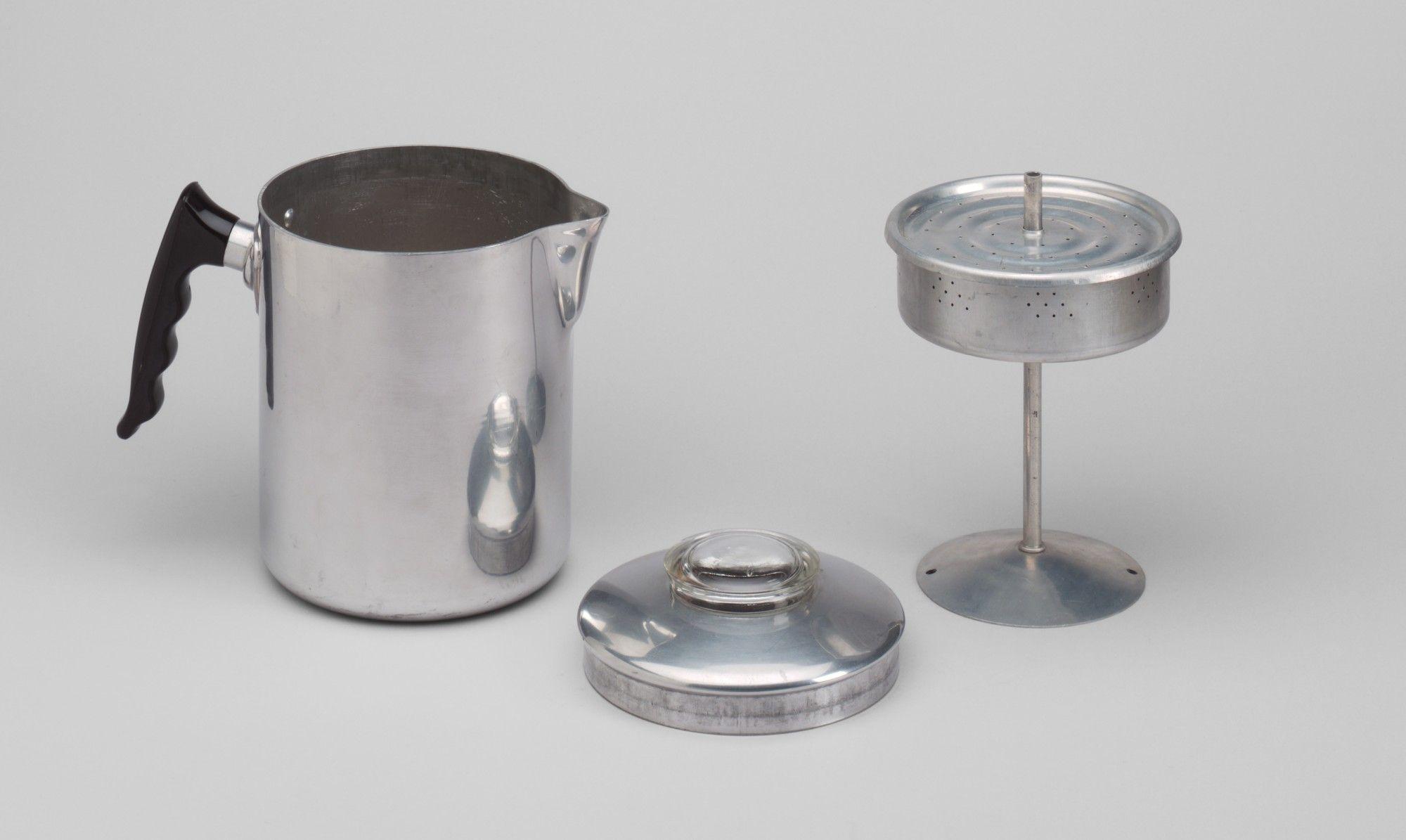 Edward Condak Marco 8 Cup Coffee Percolator C 1946 Moma Percolator Coffee Percolator Coffee