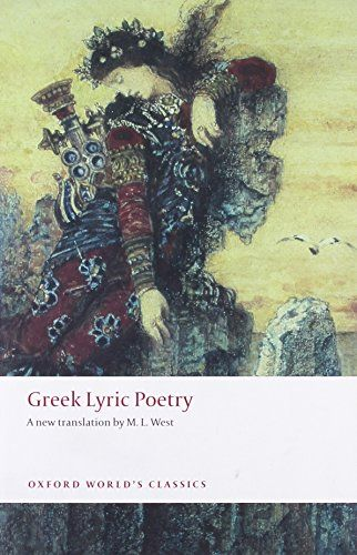 Pin by audrey bartow on the uncommon reader pinterest lyric greek lyric poetry includes sappho archilochus anacreon simonides and many more the poems and fragments of the greek iambic elegiac and melic fandeluxe Gallery