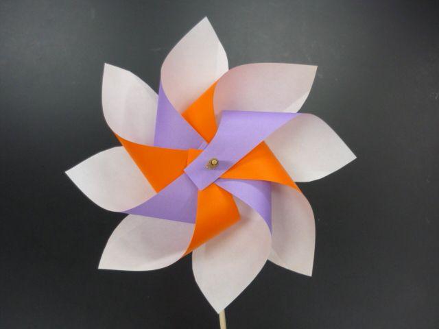 簡単 折り紙 折り紙 かざぐるま : jp.pinterest.com