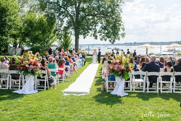 Stamford Yacht Club Wedding Jillian Anthony Are Married Yacht
