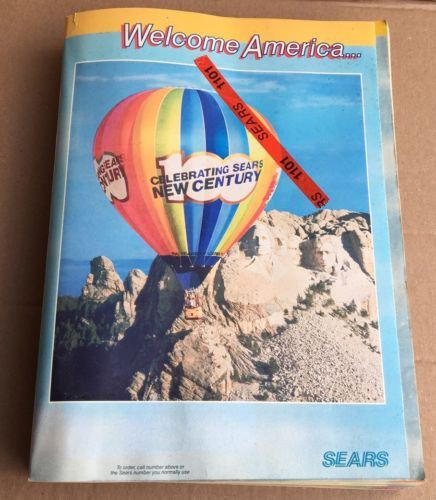 Sears 1986 Spring Summer Centennial Edition Catalog Fashion Toys Electronics   eBay