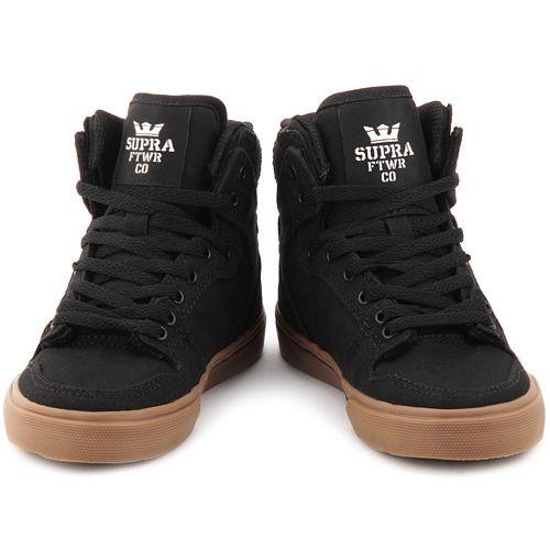 Vaider Czarne Canvasowe Sportowe Dzieciece S11234k High Top Sneakers Sneakers Top Sneakers