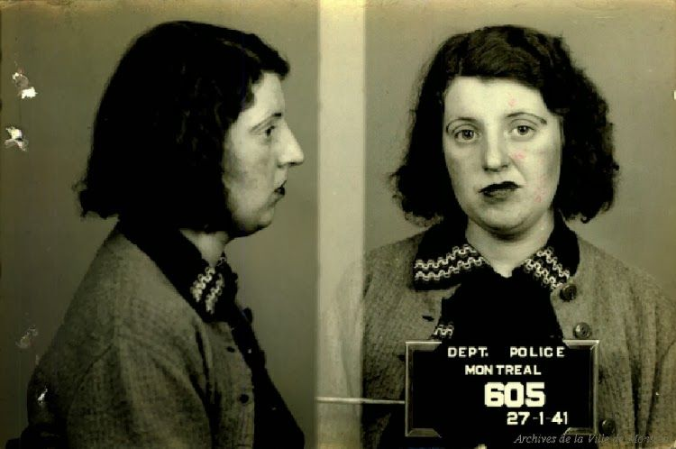 Vintage Prostitute Mugshots Google Search LADIES OF THE NIGHT - 15 vintage bad girl mugshots from between the 1940s and 1960s