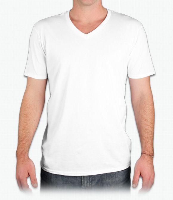 Shirt Trend White V Neck T Template Kfouvtw Custom Shirts Design Your Free Shipping