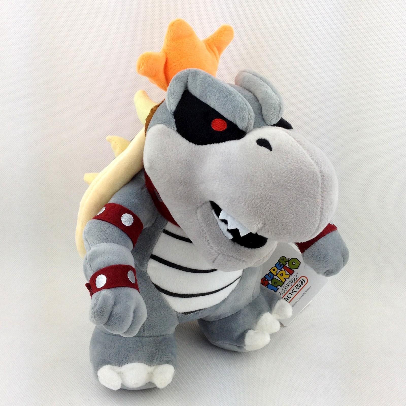 Dry Bowser Super Mario Bros Bones Koopa Troopa Soft Plush