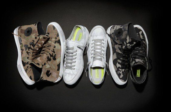 Pin By Yeaneska Matos On Sneakers Converse Chuck Taylor Ii Camo