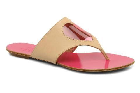 b7281c14 MOSCHINO CHEAP & CHIC Celaste Sandal (Beige/Fuchsia). | s | Shoes ...