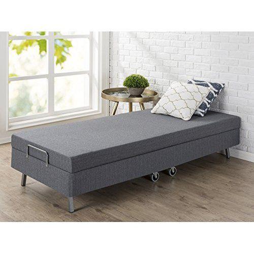 Zinus Memory Foam Resort Folding Guest Bed With Wheels 30