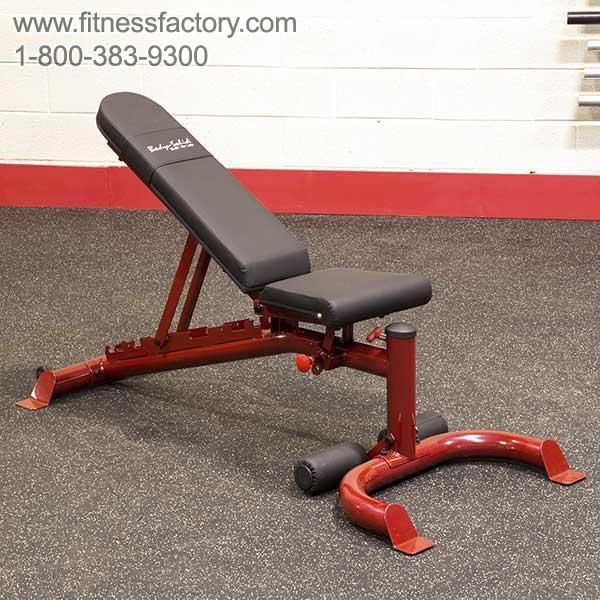 Body Solid Heavy Duty Flat Incline Decline Bench Gfid100 Incline Decline Bench Body Diy Gym Equipment